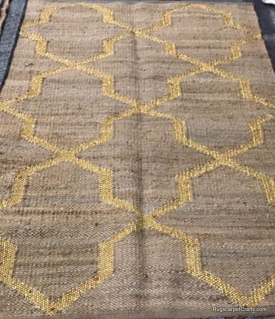 geometrical gold zarri sisal rugs carpet
